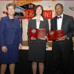 Allison Vaillancourt of CUPA HR, Edna Chun, Alvin Evans